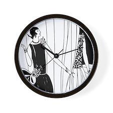 Cute Ladies Wall Clock