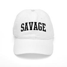 SAVAGE (curve-black) Baseball Cap