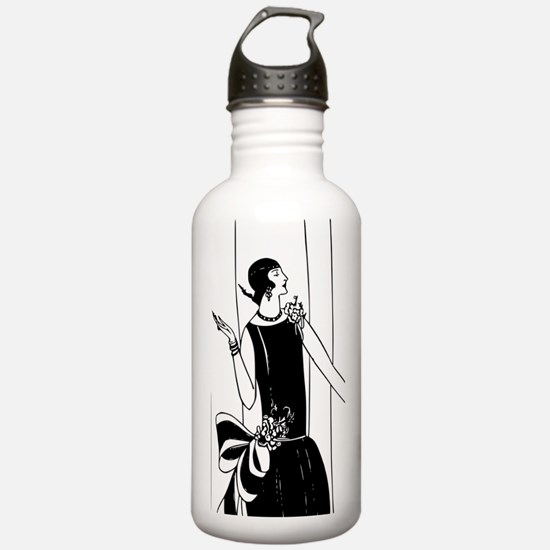 1920s vintage flappers Water Bottle