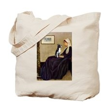 Whistlers Mother & Boston Terrier Tote Bag