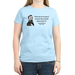 Henry David Thoreau 19 T-Shirt