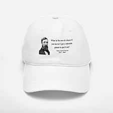 Henry David Thoreau 19 Baseball Baseball Cap