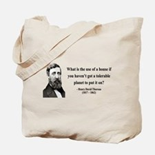 Henry David Thoreau 19 Tote Bag