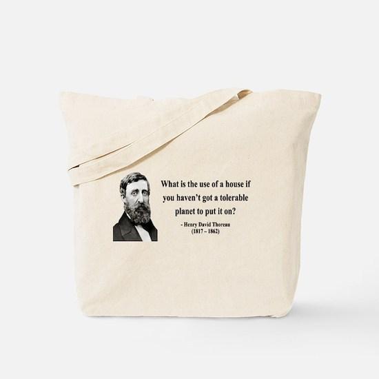 Henry David Thoreau 19 Tote Bag