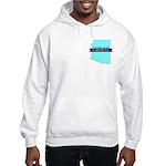 Hooded Sweatshirt for a True Blue Arizona LIBERAL
