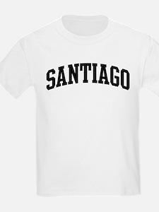 SANTIAGO (curve-black) T-Shirt
