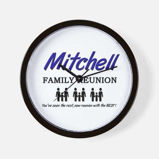 Mitchell Family Reunion Wall Clock