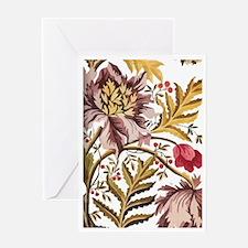 Leaf Flower_Java Batik Greeting Card