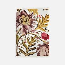 Leaf Flower_Java Batik Rectangle Magnet