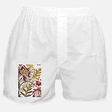Leaf Flower_Java Batik Boxer Shorts