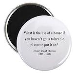 "Henry David Thoreau 19 2.25"" Magnet (100 pack"