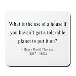 Henry David Thoreau 19 Mousepad