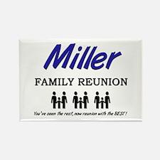 Miller Family Reunion Rectangle Magnet