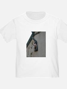 woman upskirt art sculpture T-Shirt