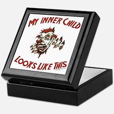My Inner Child Looks Like This Keepsake Box