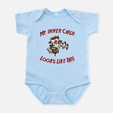 My Inner Child Looks Like This Infant Bodysuit