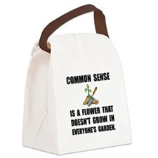 Common Sense Garden Canvas Lunch Bag