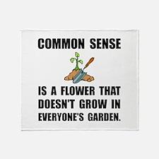 Common Sense Garden Throw Blanket