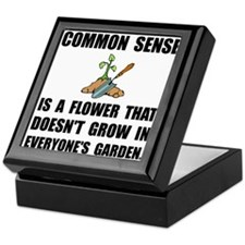 Common Sense Garden Keepsake Box