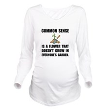 Common Sense Garden Long Sleeve Maternity T-Shirt
