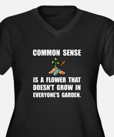 Common Sense Garden Plus Size T-Shirt