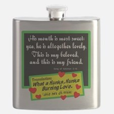 He's All Mine Flask