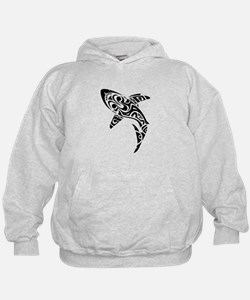 Shark Tattoo design Hoodie