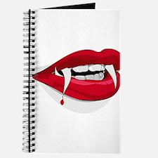 red vampire teeth lips Journal