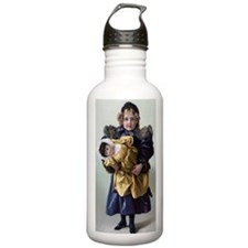 Funny Navy girl Water Bottle