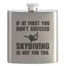 Skydiving Not For You Flask