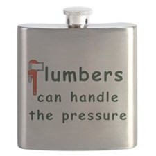 Plumbers can handle the pressure Flask