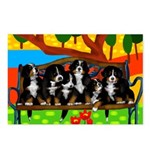 BERNESE MOUNTAIN DOG Postcards (Package of 8)