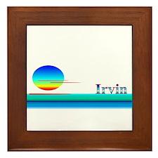 Irvin Framed Tile
