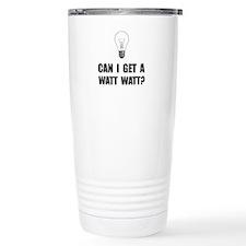 Watt Watt Light Bulb Travel Mug