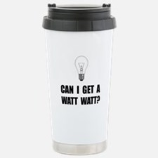 Watt Watt Light Bulb Travel Mug