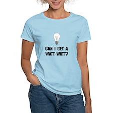 Watt Watt Light Bulb T-Shirt