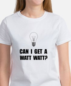 Watt Watt Light Bulb T-Shirt