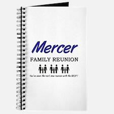 Mercer Family Reunion Journal