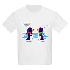 Flying Penguins Kids T-Shirt