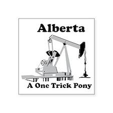 """Alberta Square Sticker 3"""" x 3"""""""