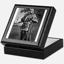 sarah bernhardt hamlet antique black Keepsake Box