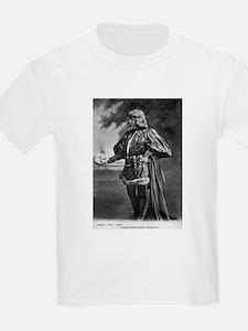 sarah bernhardt hamlet antique black white T-Shirt