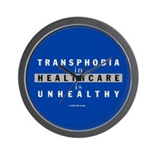 Transphobia in Healthcare in Unhealthy Wall Clock