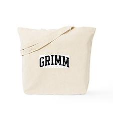 GRIMM (curve-black) Tote Bag