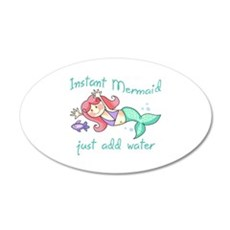 INSTANT MERMAID Wall Decal