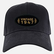 Vintage 1947 Baseball Hat