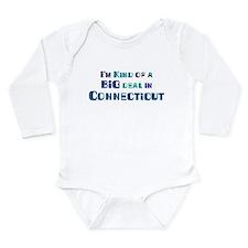 Cute Connecticut Long Sleeve Infant Bodysuit