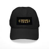 Vintage 1943 Black Hat