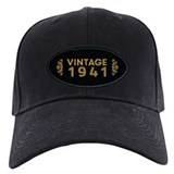 1941 birthday Baseball Cap with Patch