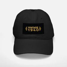 Vintage 1940 Baseball Hat